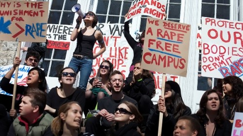 SEXUAL ASSAULT PROTEST